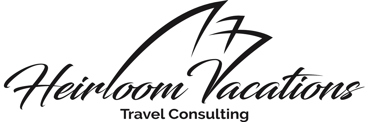 Heirloom Vacations Travel Consulting Logo